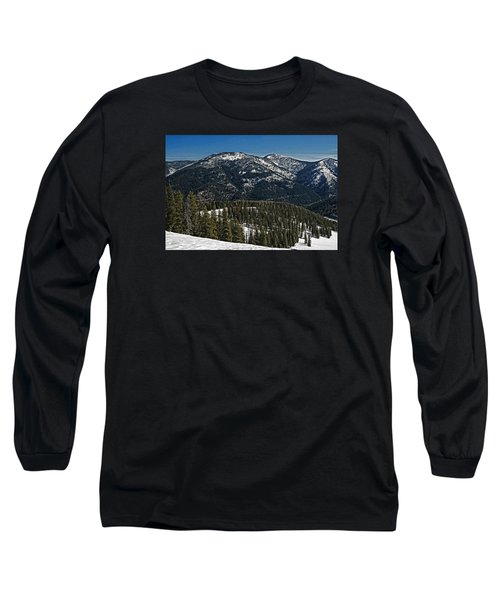 Long Sleeve T-Shirt featuring the photograph Rocky Mountain Top by Andy Crawford