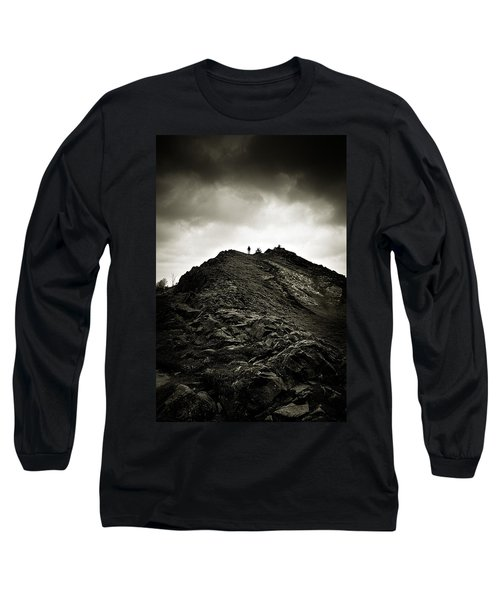 Rocky Pathway To Scotland Long Sleeve T-Shirt