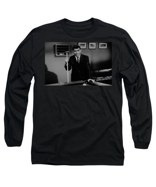 Rod Serling Long Sleeve T-Shirt
