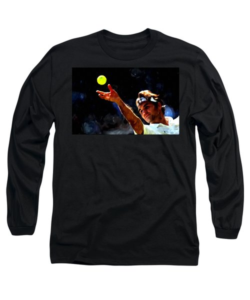 Roger Federer Tennis 1 Long Sleeve T-Shirt