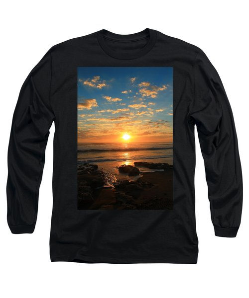 Rolling Over Rocks Long Sleeve T-Shirt by Catie Canetti