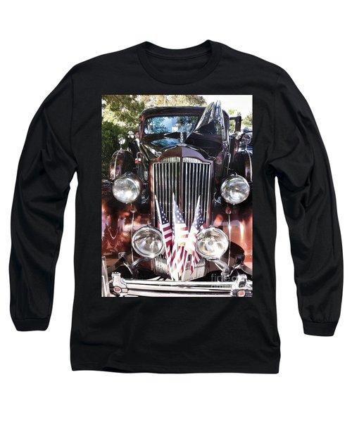 Rolls Royce Car  Long Sleeve T-Shirt by Susan Garren