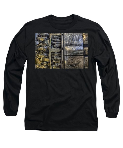 Rolls-royce Dart Turboprop Detail Long Sleeve T-Shirt by Lynn Palmer