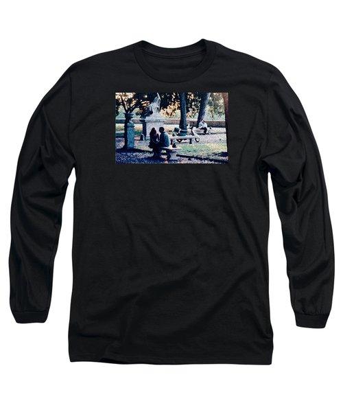 Roman Romance Tivoli Gardens Long Sleeve T-Shirt by Tom Wurl