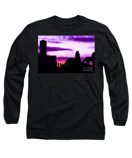 Roman Sunrise Long Sleeve T-Shirt