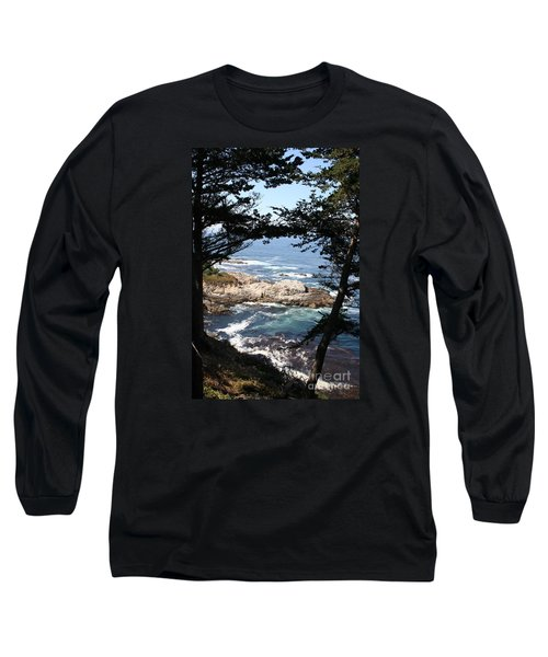 Romantic California Coast Long Sleeve T-Shirt by Christiane Schulze Art And Photography