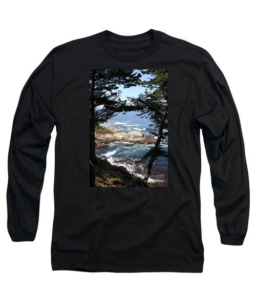 Romantic California Coast Long Sleeve T-Shirt