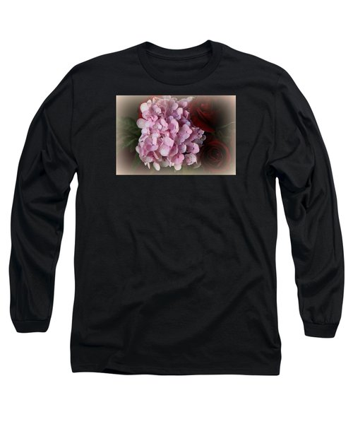 Long Sleeve T-Shirt featuring the photograph Romantic Floral Fantasy Bouquet by Kay Novy