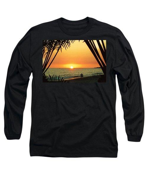 Romantic Sunset Long Sleeve T-Shirt