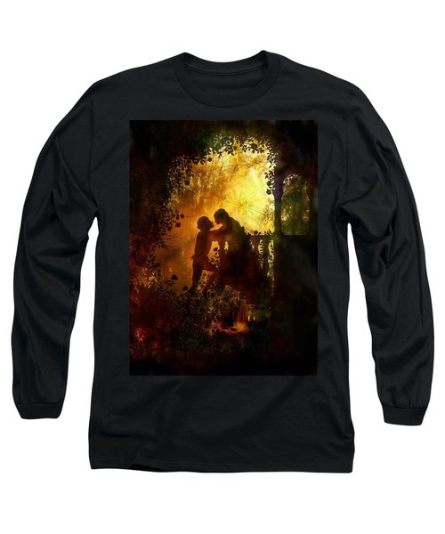 Romeo And Juliet - The Love Story Long Sleeve T-Shirt by Lilia D