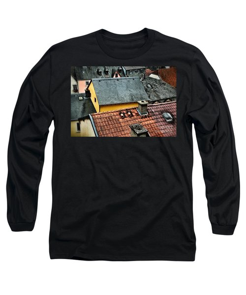 Rooftops Long Sleeve T-Shirt by Nick  Biemans
