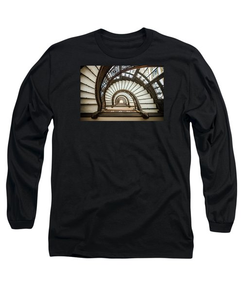 Rookery Building Oriel Staircase Long Sleeve T-Shirt