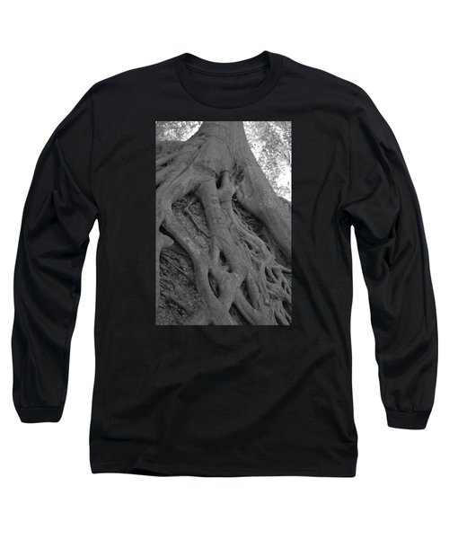 Roots II Long Sleeve T-Shirt by Suzanne Gaff