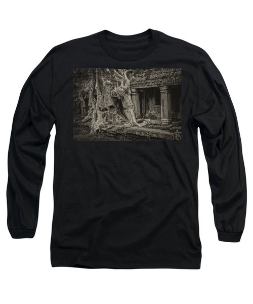 Roots In Ruins 7, Ta Prohm, 2014 Long Sleeve T-Shirt