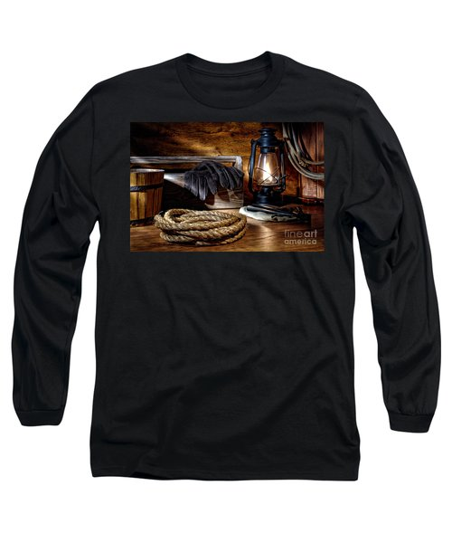 Rope In The Ranch Barn Long Sleeve T-Shirt