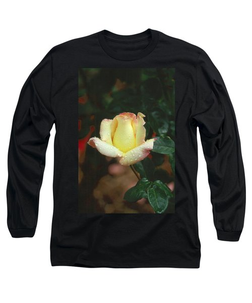 Rose 3 Long Sleeve T-Shirt by Andy Shomock