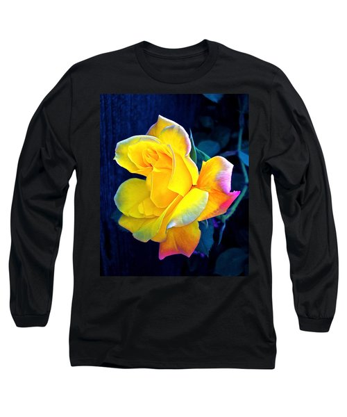 Long Sleeve T-Shirt featuring the photograph Rose 4 by Pamela Cooper