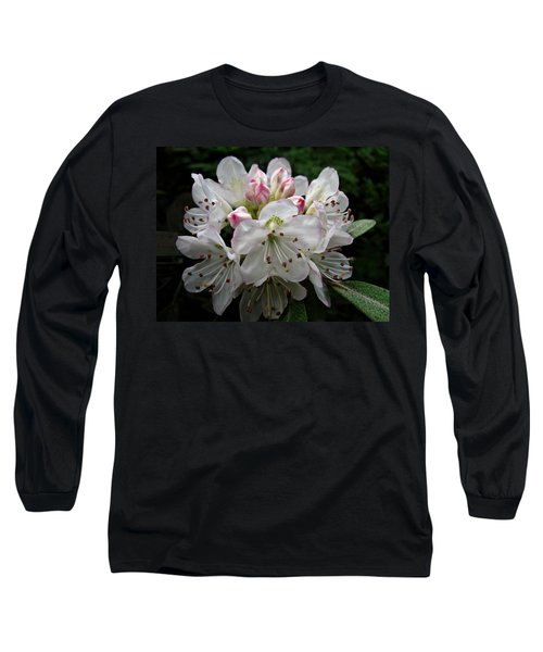 Rose Bay Rhododendron Long Sleeve T-Shirt