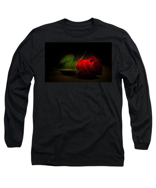 Rose Bud Long Sleeve T-Shirt