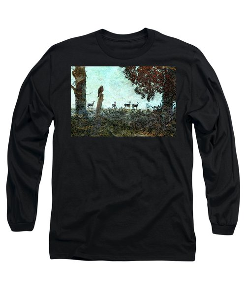 Rose Hill - Autumn Long Sleeve T-Shirt by Ed Hall