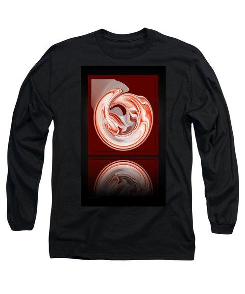 Rose In Orb Long Sleeve T-Shirt