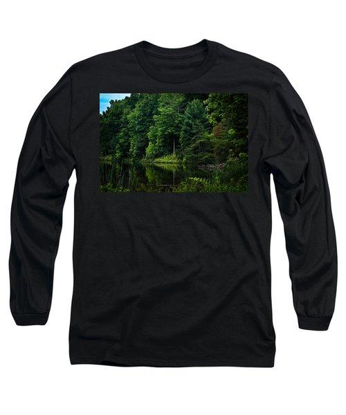Rose Lake Beauty Long Sleeve T-Shirt