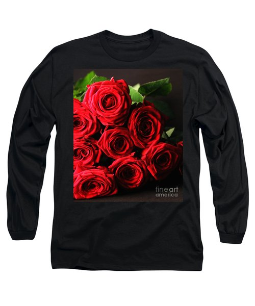 Long Sleeve T-Shirt featuring the photograph Roses 3 by Mariusz Czajkowski
