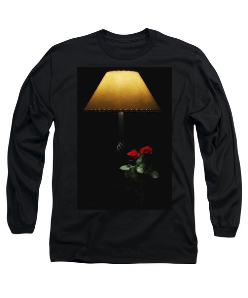 Roses By Lamplight Long Sleeve T-Shirt