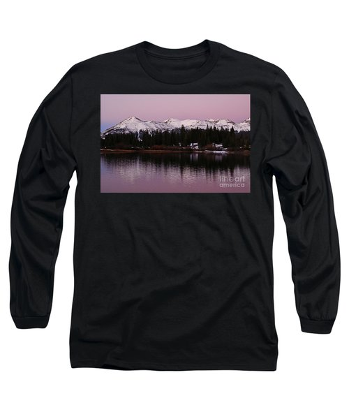 Rosey Lake Reflections Long Sleeve T-Shirt
