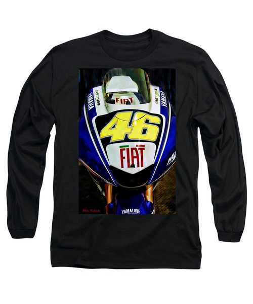 Rossi Yamaha Long Sleeve T-Shirt