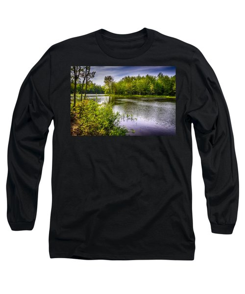 Long Sleeve T-Shirt featuring the photograph Round The Bend 35 by Mark Myhaver