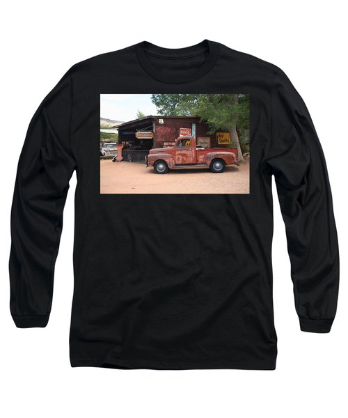 Route 66 Garage And Pickup Long Sleeve T-Shirt