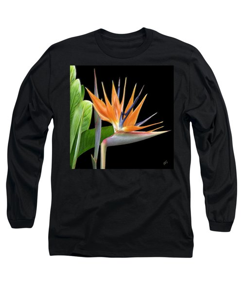 Royal Beauty I - Bird Of Paradise Long Sleeve T-Shirt