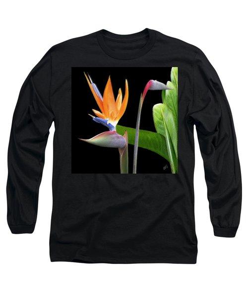 Royal Beauty II - Bird Of Paradise Long Sleeve T-Shirt
