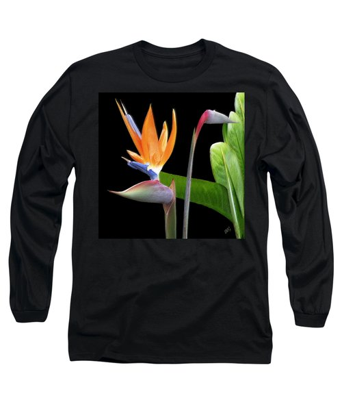 Royal Beauty II - Bird Of Paradise Long Sleeve T-Shirt