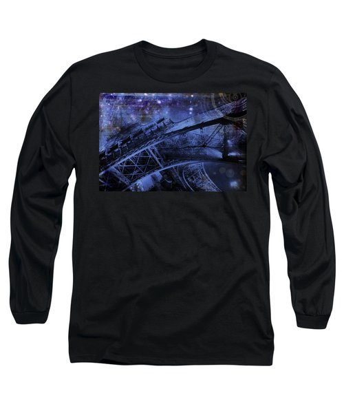 Royal Eiffel Tower Long Sleeve T-Shirt