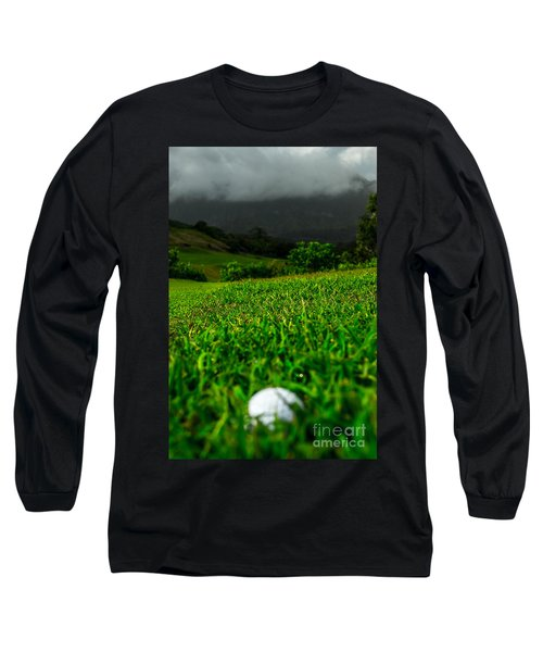 Long Sleeve T-Shirt featuring the photograph Royal Hawaiian Golf by Angela DeFrias