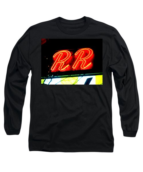 Long Sleeve T-Shirt featuring the painting RR by Luis Ludzska