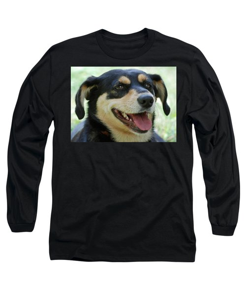 Long Sleeve T-Shirt featuring the photograph Ruby by Lisa Phillips