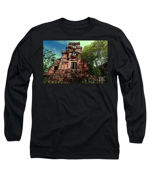 Ruin At Angkor Long Sleeve T-Shirt