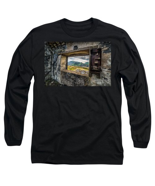 Ruin With A View  Long Sleeve T-Shirt by Adrian Evans