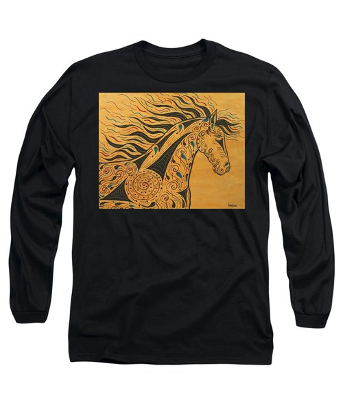 Runs With The Wind Long Sleeve T-Shirt