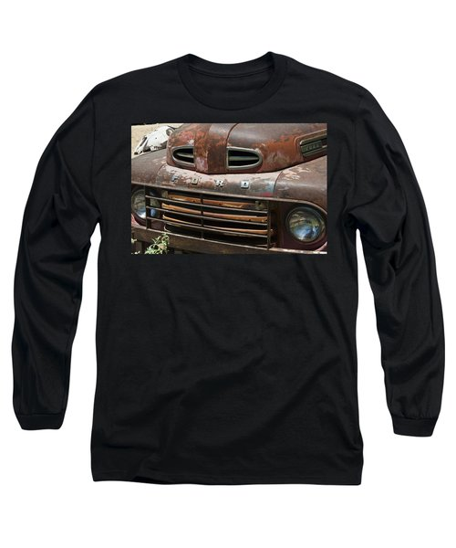 Rusted Ford In Hackberry Long Sleeve T-Shirt