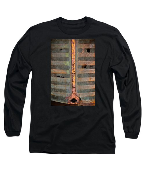 Rusted Grill - Abstract Long Sleeve T-Shirt by Colleen Kammerer