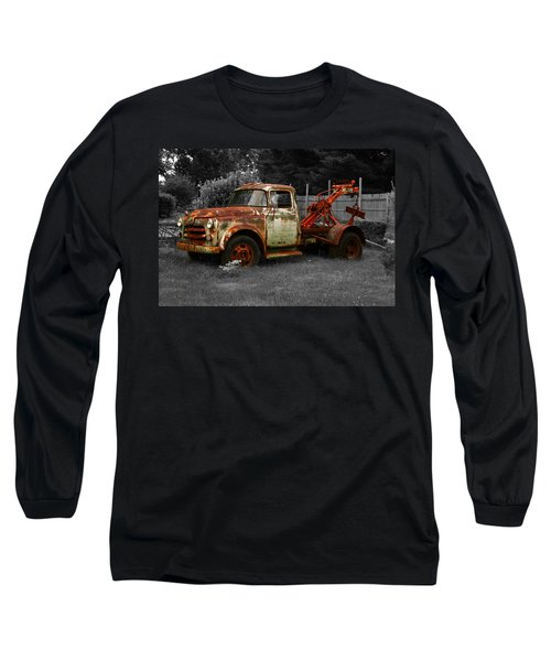 Rusty Tow Truck Long Sleeve T-Shirt