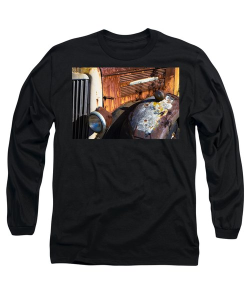 Rusty Truck Detail Long Sleeve T-Shirt