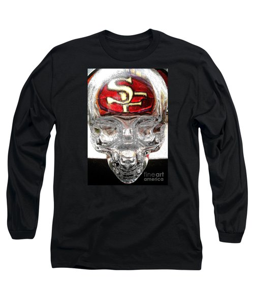 Long Sleeve T-Shirt featuring the photograph S. F. 49ers by John King