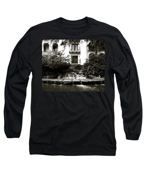 Sa River Walk 001-2013 Long Sleeve T-Shirt by Shawn Marlow