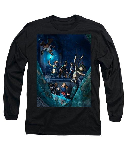 Sacred Burial Chamber Long Sleeve T-Shirt