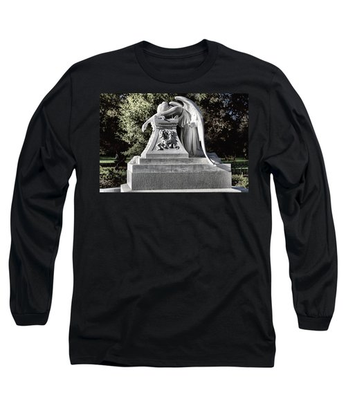 Sad Angel Long Sleeve T-Shirt
